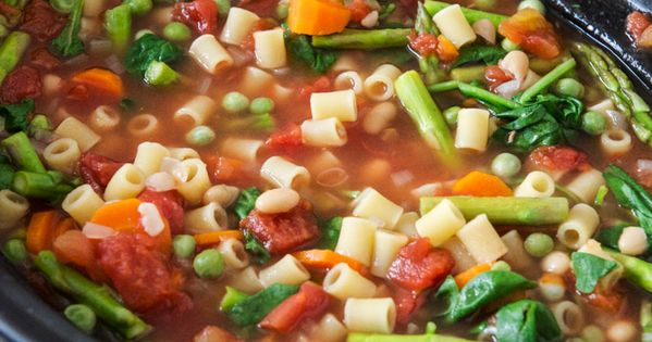 This was So-So. I would tweak next time. Springtime Crockpot Minestrone: Kendra