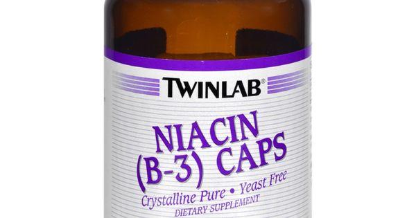 Twinlab Niacin B 3 Caps 1000 Mg 100 Capsules