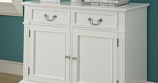 White Chest With Two Doors Two Drawers At Big Lots Furniture Pinterest Glass Doors Red