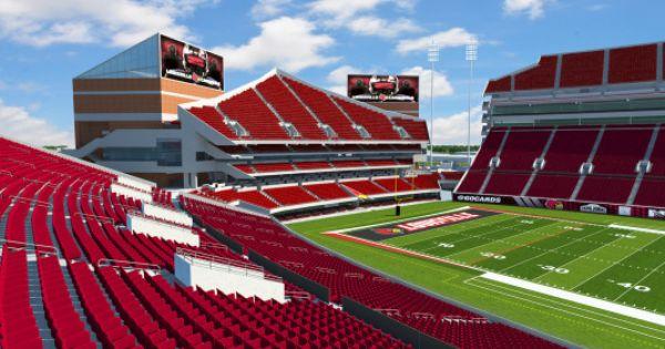 Papa John S Cardinal Stadium Expansion Papa Johns University Of Louisville Stadium