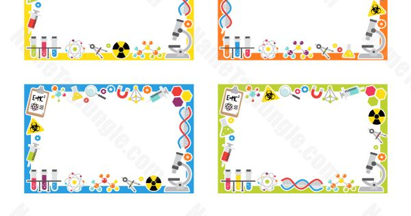 Science Tags: Free Printable Science Name Tags. The Template Can Also Be