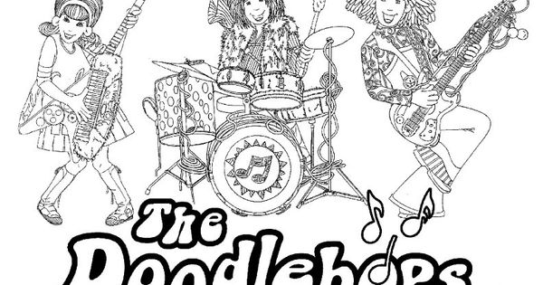 doodlebops printable coloring pages - photo#25