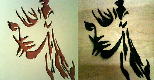 Make Your Own Face Paint Stencils