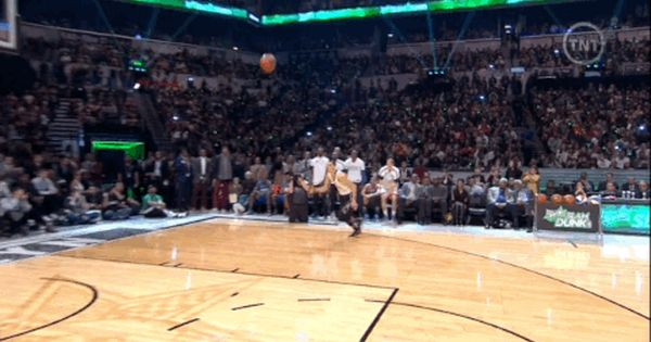 Space Jam Dunk By Zach Lavine The All Star Slam Dunk Contest