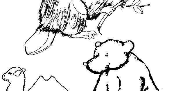 brown coloring pages for preschoolers - photo#21