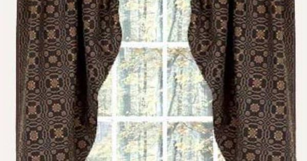 Lover S Knot Country Curtains From Home Collections By