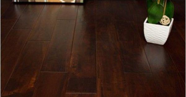 Handscraped cabernet acacia hardwood flooring real for Hardwood floors hurt feet
