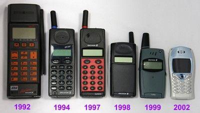 telephone portable 1990