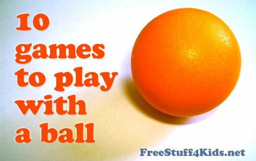 PE Games - 10 games to play with a ball - just
