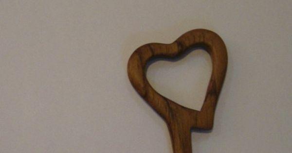 Heart Shaped Chopstick Hair Sticks From Hawaiian Koa Wood Coupon Gifts Zzbobscreativewoodworking Accessories On A Hair Sticks Chopstick Hair Wooden Jewelry