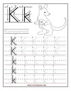 Free Printable Letter K Tracing Worksheets For Preschool Free