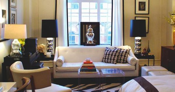 studio apartment ideas - layout and window treatment, Go To to get