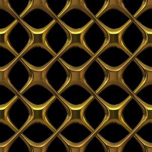Gold Lattice 3d Gothic Interlaced Golden Metal Could Be Brass Or Bronze Great Texture Fill Or Element Hudozhestvennyj Dekor Oboev Tekstury Zalivka