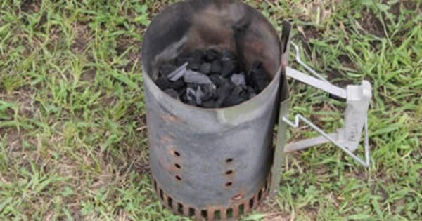 How To Use A Charcoal Chimney Starter Charcoal Chimneys Starter Charcoal