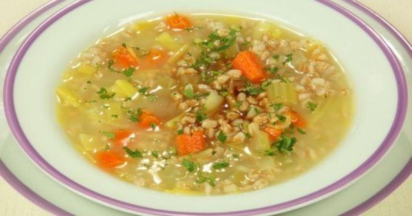 Zuppa di farro ricette cucina vegetariana cookaround - Cucina vegetariana ricette ...