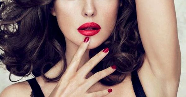 Jayeon Kim's pick: Red nails with Monica Bellucci
