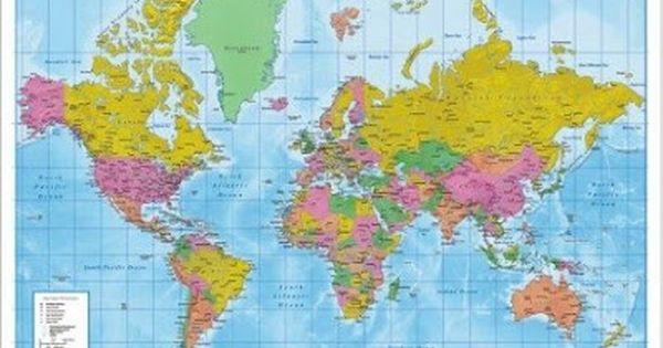 Mappa Mondo Cartina.Impariamo Insieme Cartina Geografica Del Mondo Geografia Mondo Geografia Mappa Del Mondo