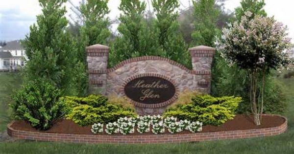Landscape Sign Idea Landscaping Around House Landscaping