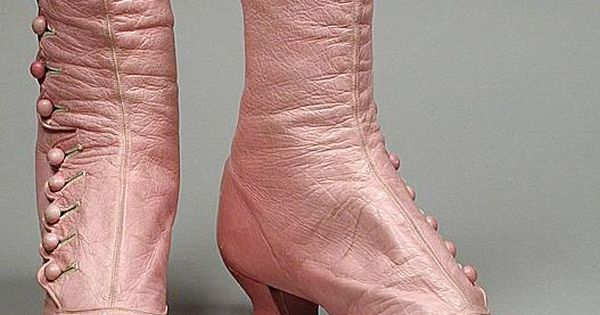 Pink shoes 1868