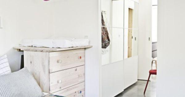 Inloopkast als doorgang naar de badkamer slaapkamer pinterest - Salontafel naar de slaapkamer ...