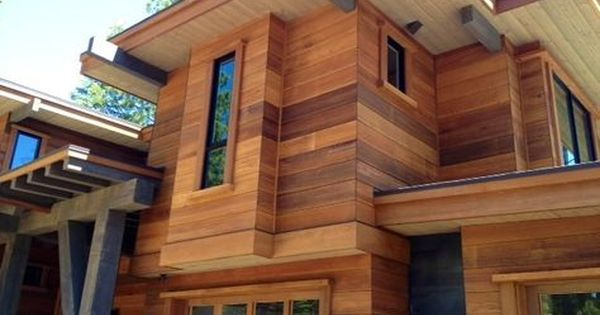 Cedar Hardie Board This Is A Cement Board Made To Look Like Cedar No Maintenance And It Lasts Forever House Siding House Exterior Hardie Board