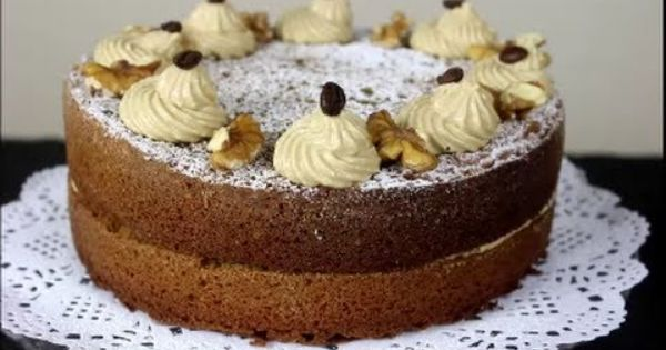 How To Make Coffee Cake كيكة القهوة Coffee Cake Cake Cupcake Cakes