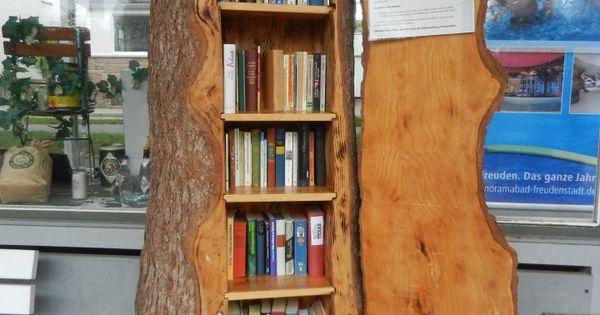 A bookshelf shaped like a tree trunk what a cute idea - Bookshelf shaped like a tree ...