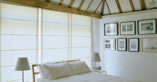 vaulted-ceiling-bedroom-bedroom-farmhouse-with-window-wall-rustic