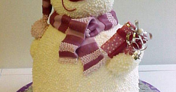Beauty Art Design Christmas Cake – Best Easy Bakery Decor Party Theme
