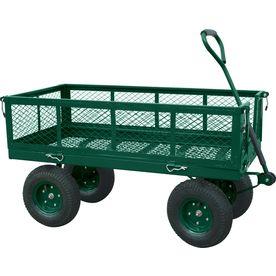 Edsal 26 3 4 In Utility Cart Cw4824 Garden Wagon Outdoor Cart