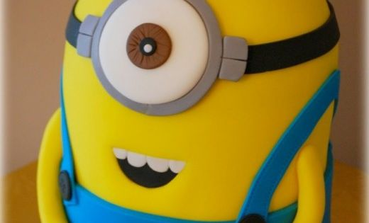 How to make a minion cake. Despicable me is a great film