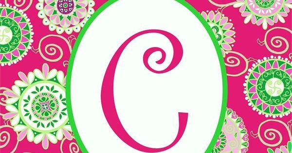 C Quot Monogram Mini Flag Fashion Circles Monstermarketplace