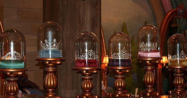 The Princess Tiaras In The Bibbidi Bobbidi Boutique In Cinderella