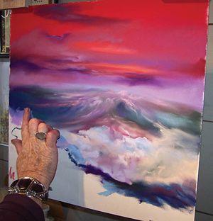Online Pastel Demonstration A Wave Of Emotion Soft Pastel Art Pastel Art Art