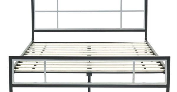 Wayfair Bed Frames Bed Frame Bed Frame Found It At Taro: Queen Size Modern Platform Metal Bed Frame With Headboard