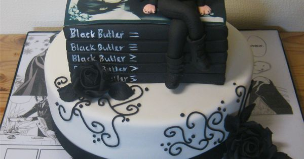 Manga Black Butler Cake Cakes Ideas Pinterest Black