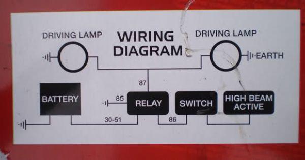 Spotlight Wiring Diagram Nissan Patrol