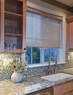 Solar Shades Design Ideas Pictures Remodel And Decor Kitchen Sink Window Window Shades Living Room Kitchen Window Treatments