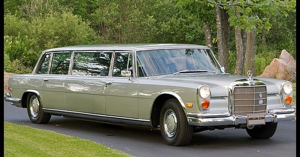 1970 Mercedes Benz Stretch 600 Limousine Mecum Chicago