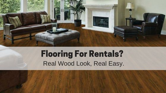 Selecting The Right Floor For Rental Property Is A Balance Between Durability Affordability And Aesthetics Durable Flooring Vinyl Plank Flooring Flooring
