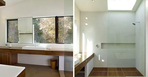 Tile Less Shower Bathroom Ideas Pinterest Tub