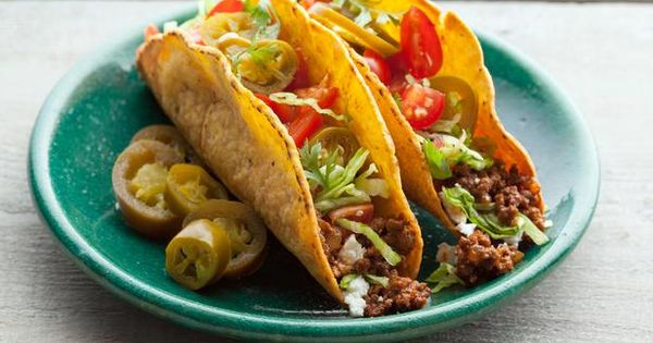 All American Beef Taco Recipe : Alton Brown : Food Network -