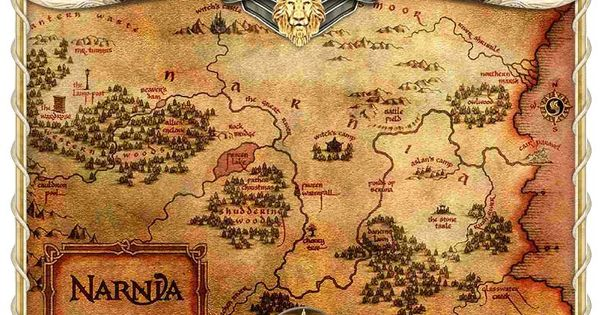 Map Of Narnia Cartography Pinterest Narnia And Maps