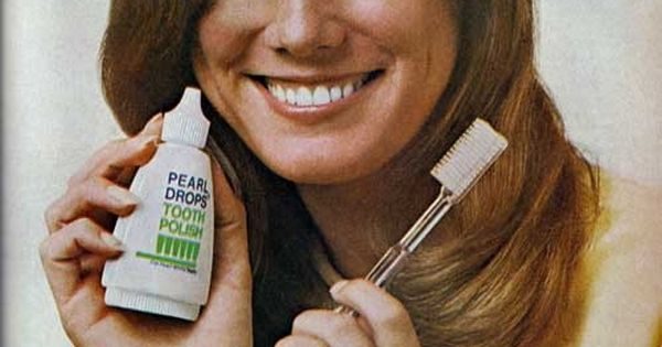 Pearl Drops Tooth Polish - before all the whitening toothpastes existed I