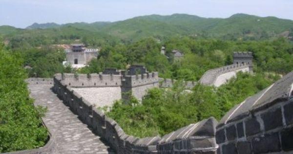 Great Wall Tiger Mountain Dandong At North Korea Border With Images Dandong