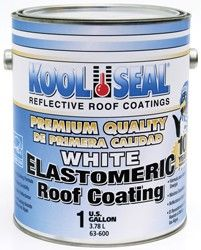 Rv Roof Coating 1 Gallon White Elastomeric Roof Coating Roof Remodeled Campers