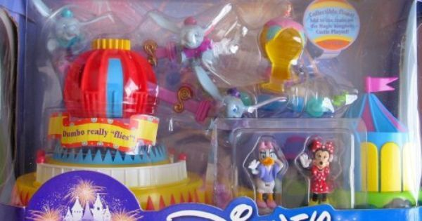 Disney Magic Kingdom Dumbo The Flying Elephant Playset