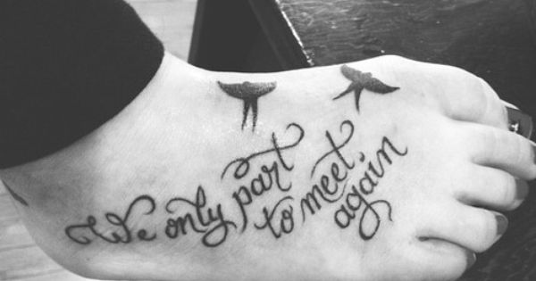 In memory tattoo