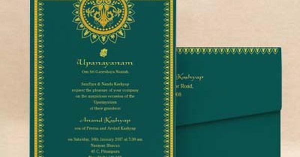 Betel Blocks Pink Thread Ceremony Invitation Cards E Card Designs Buy Betel Blocks Pink Wedding Card Design Indian Online Invitation Card Invitation Cards