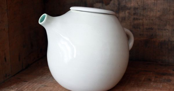 Someday... White Teapot for Two by clamlab on Etsy, $200.00